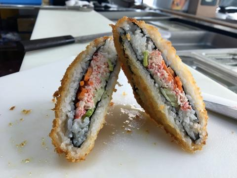 A Sushi Sandwich From A Gas Station Yes How many other 14 year olds have you seen doing crank arm… the des moines register