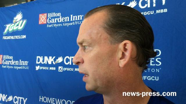 FGCU coach Joe Dooley speaks at 2016-17 men's basketball media day