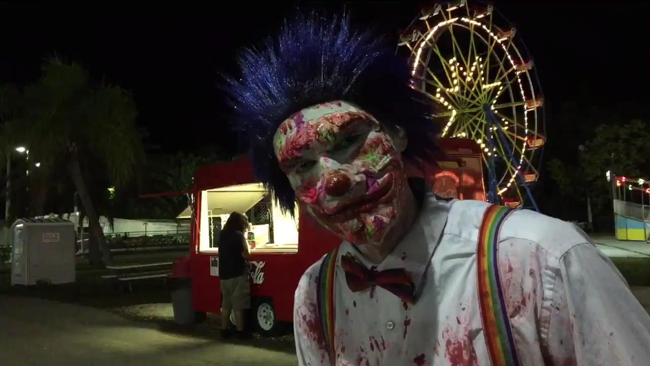A look at the 25th annual Haunted Hike in 2016 at Greenwell's in Cape Coral, which featured many of the scariest characters throughout the years. Now the hike is back for Halloween 2018.
