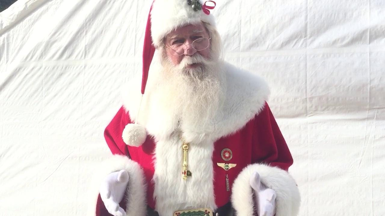 """Santa Claus (Paul Kudla) has a message for Southwest Florida kids. Kudla won the title of """"America's Best Santa"""" in 2015 on the truTV reality show """"Santas in the Barn."""" He's meeting kids at Bass Pro Shops in Estero until Christmas."""