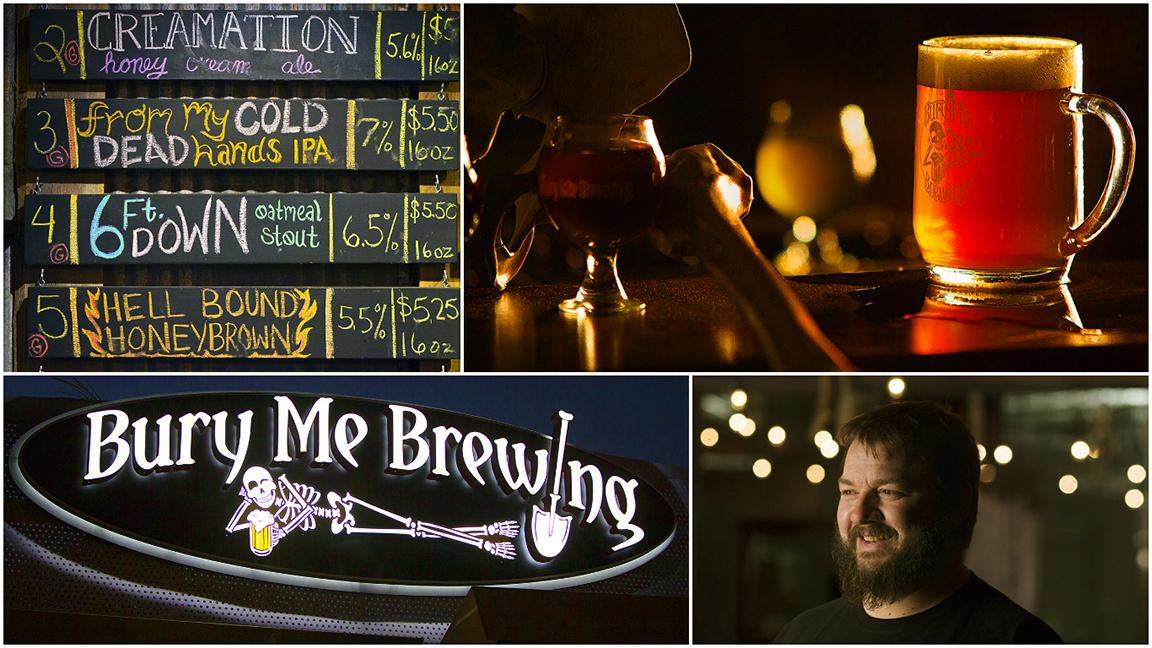 Behind the Brewery: Bury Me Brewing is alive and hopping