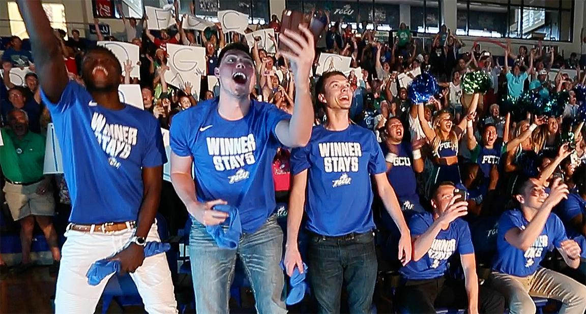 This 'dancing' moment! FGCU to take on FSU in NCAA tournament
