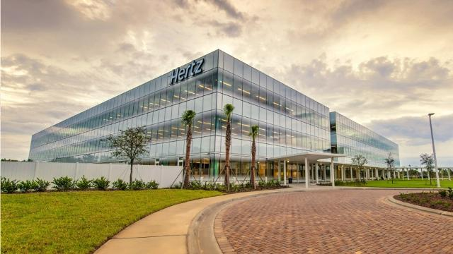 Hertz Global Holdings is headquartered in Estero, Florida, where hundreds of corporate executives and staff work in a state-of-the-art facility that opened in 2015.