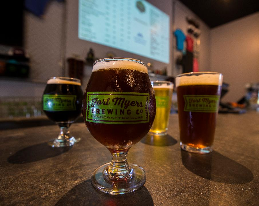 Fort Myers Brewing Co. opened in 2013 as the first microbrewery in Lee County.