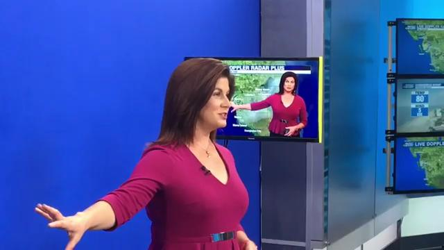 Haley Webb ready for last month at NBC-2