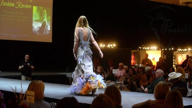 Eight businesses and designers held the first ever Rockin' the Range Fashion Review on Thursday.  For a local designer fashion strengthens ties to her spirituality and culture.
