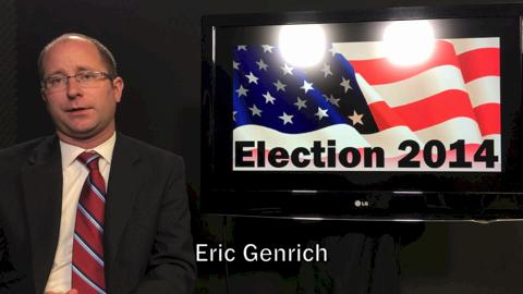 State Rep. Eric Genrich, D-Green Bay, is the Democratic candidate for the 90th Assembly District. (Oct. 27, 2014)