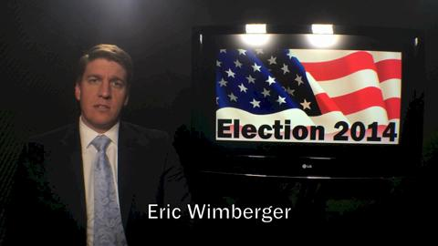 Eric Wimberger is the Republican candidate for the 90th Assembly District. (Oct. 27, 2014)
