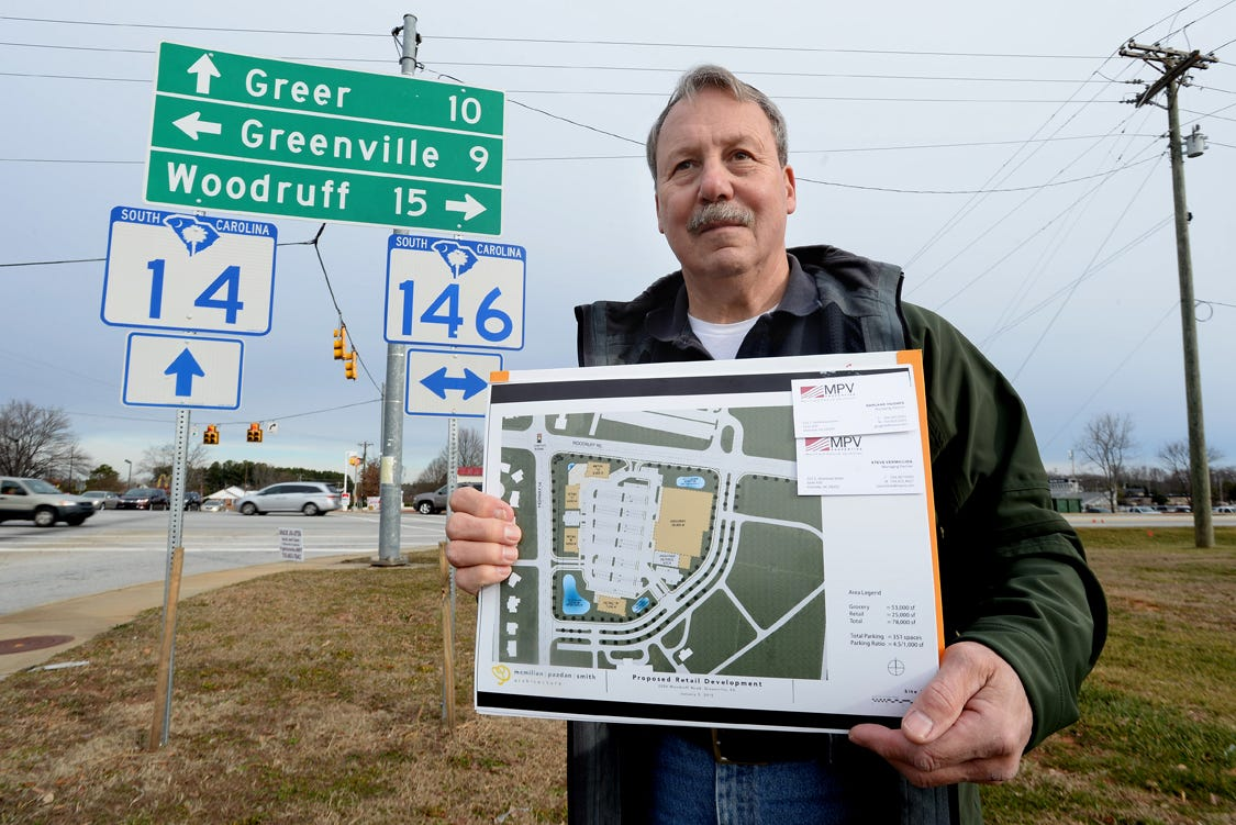 Woodruff Rd area residents oppose proposed retail development