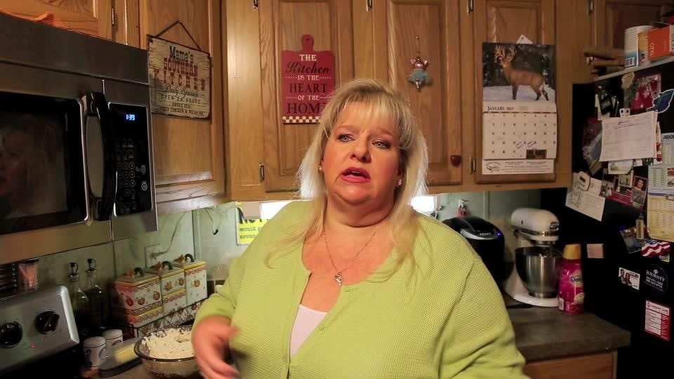 """Francine Bryson, author of the bestselling cookbook """"Blue Ribbon Baking from a Redneck Kitchen"""" talks about finding happiness in cooking."""