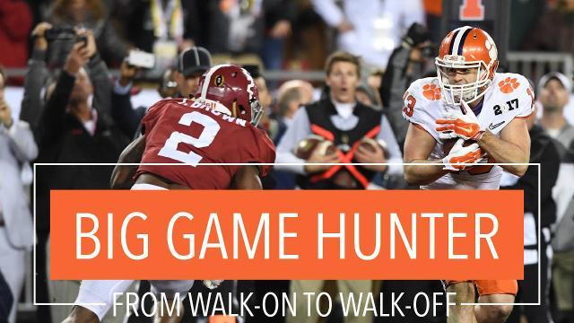 Big Game Hunter: From Walk-on to Walk-off