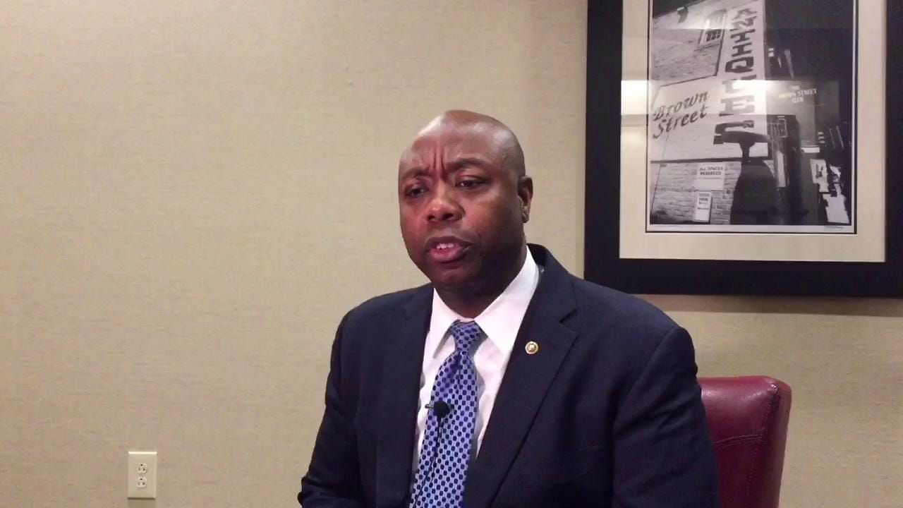 U.S. Sen. Tim Scott has a special message for his mom on Mother's Day.