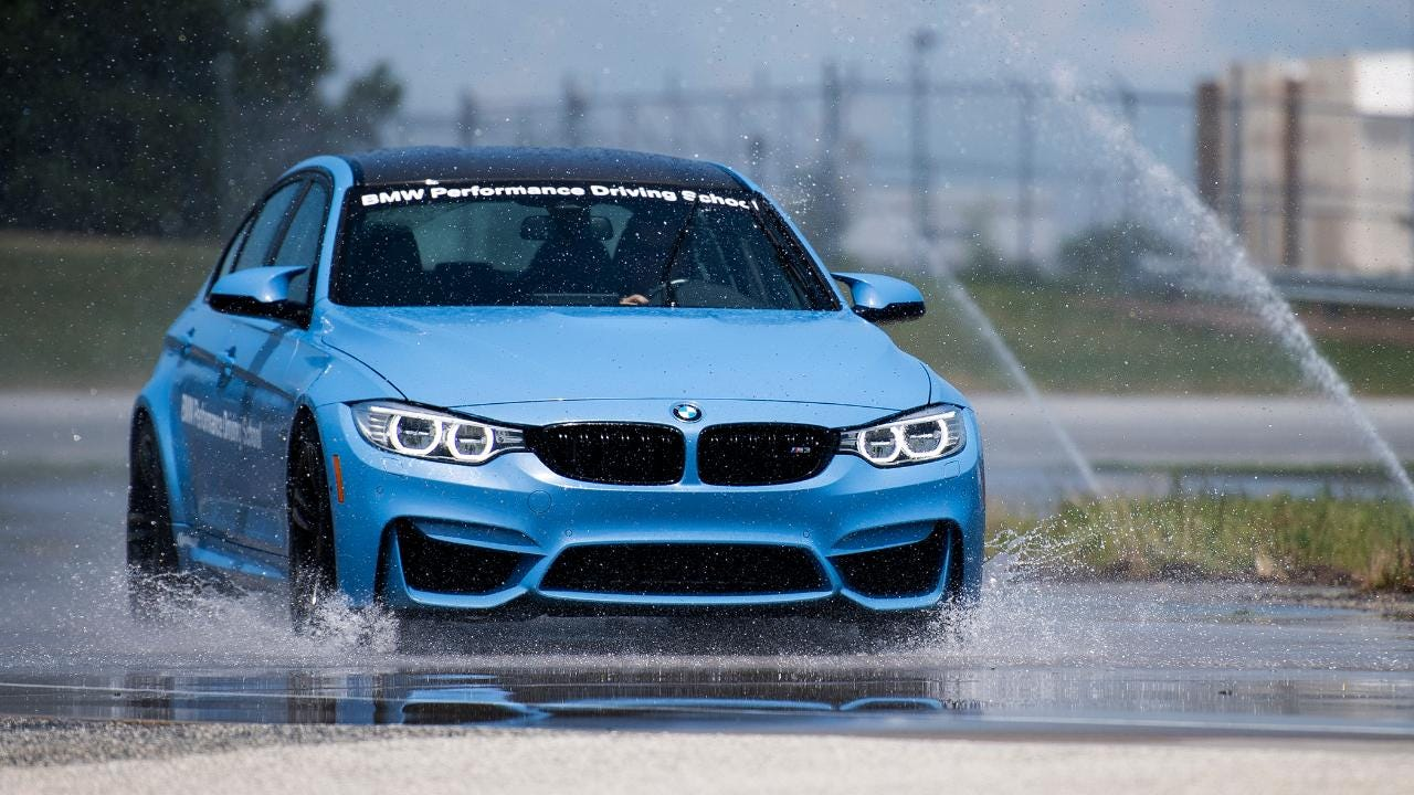 A day at the BMW Performance Driving School