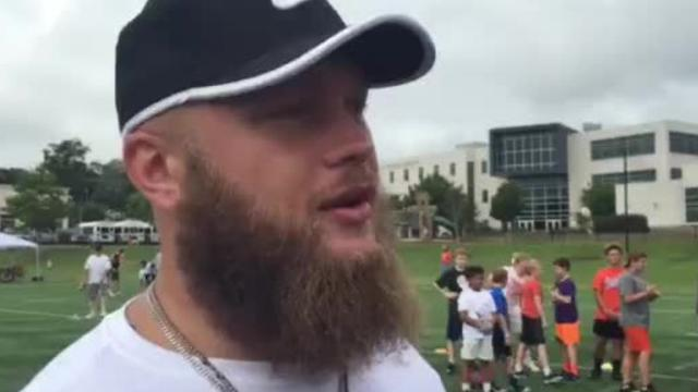 Ben Boulware gunning for roster spot with Panthers