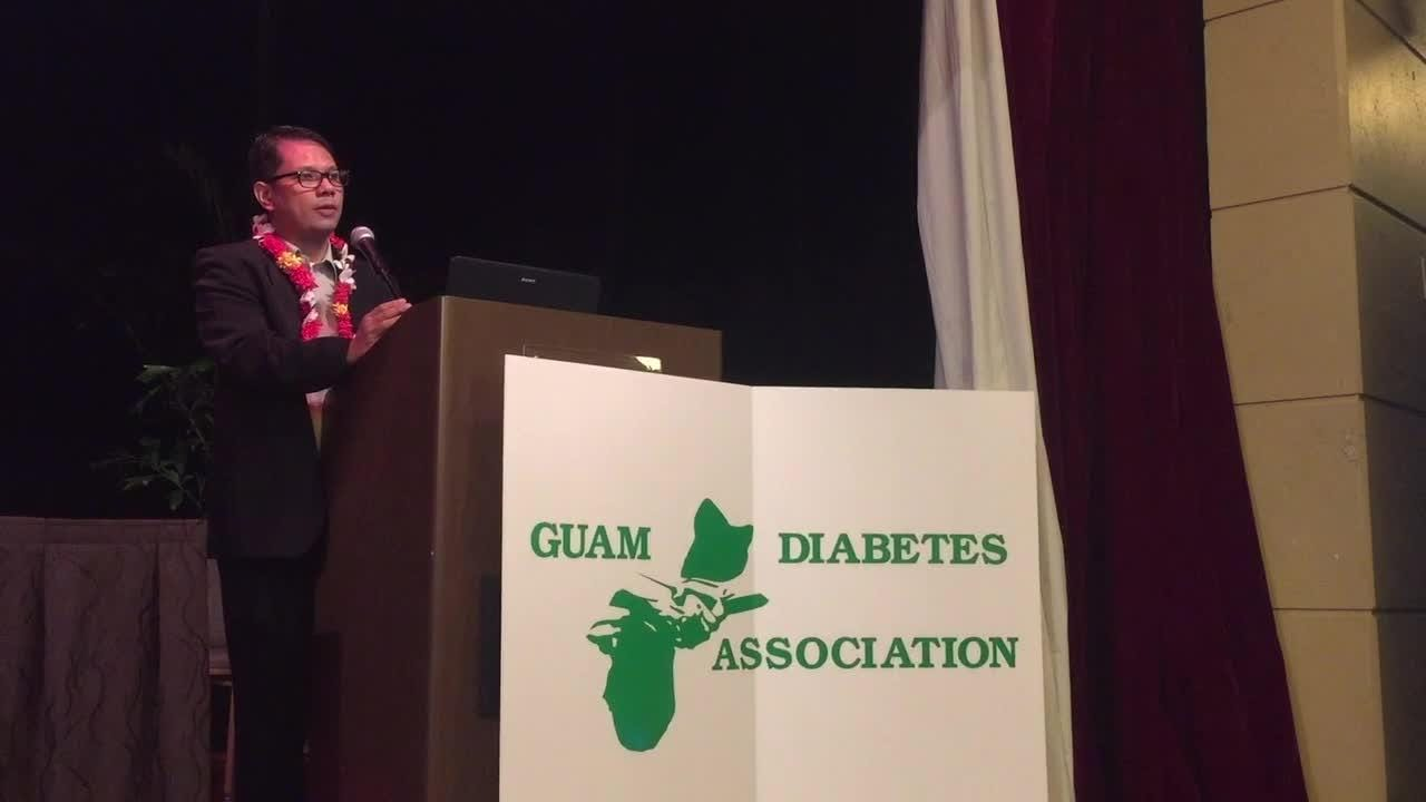 Dr. Jose Protacio Marcia at the 17th Annual Diabetes Conference