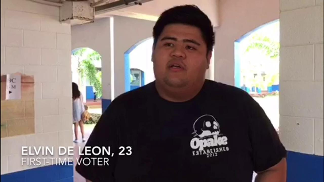 Young voter explains what drove him to the polls