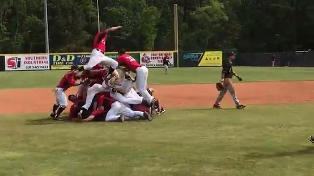 RAW VIDEO: William Carey advances to NAIA World Series in walk-off fashion
