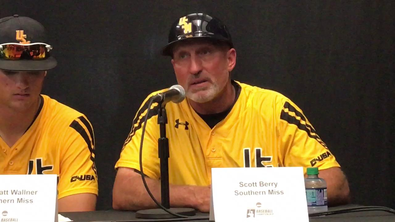 USM's Berry talks Sunday's regional win over South Alabama