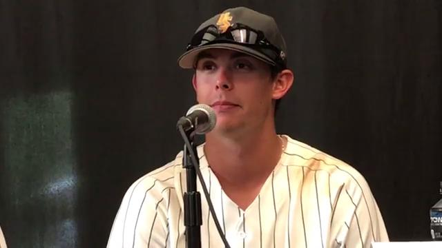 USM's Hayden Roberts reacts to win vs. UIC