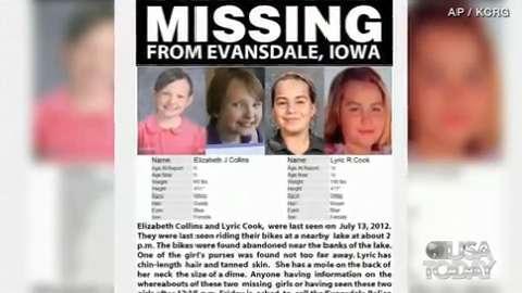 Evansdale girls:Neighbors start pink ribbon campaign for missing girls