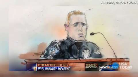 Officer: Holmes 'smirked' at me after Aurora shooting