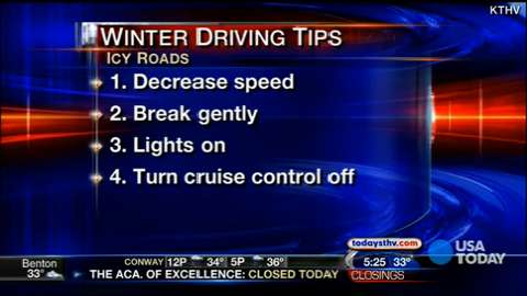 What to know before you drive in winter weather