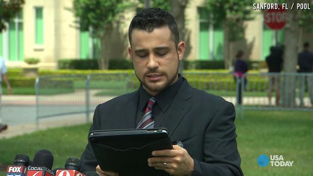 George Zimmerman's brother speaks outside of courthouse