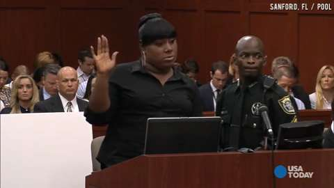 Zimmerman trial witness told Trayvon, 'You better run'