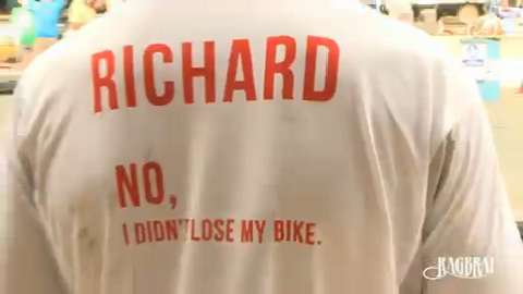 Army Capt. Richard Kresser is running the 406-mile RAGBRAI route in Iowa to raise money and awareness for veterans' stress disorders.