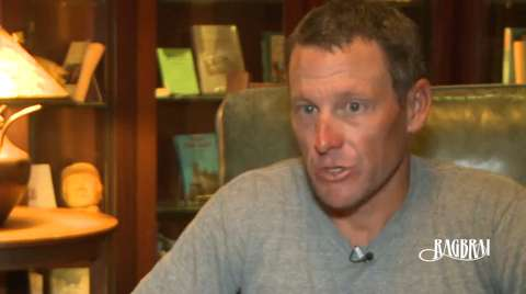 In the summer of 2013, Lance Armstrong sat down to discuss his return to public cycling at the Des Moines Register's Annual Great Bicycle Ride Across Iowa.  He also discussed the backlash he'd seen since sitting down with Oprah.