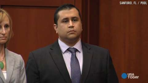 George Zimmerman found not guilty