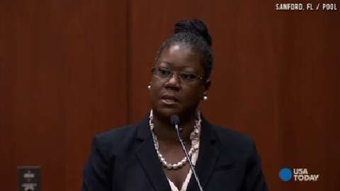 Trayvon's mom on stand: I wish this hadn't happened