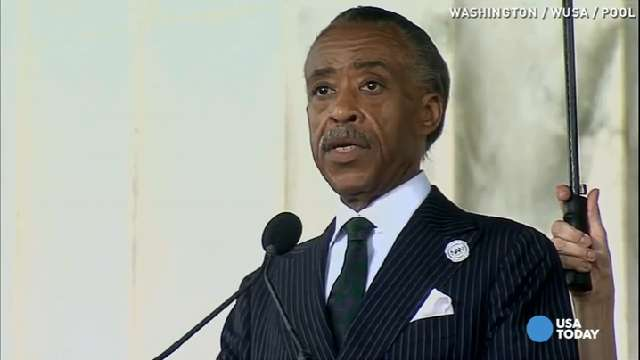 Al Sharpton: March was a struggle, not an event