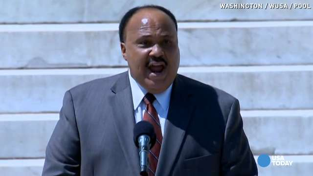 Martin Luther King Iii The Dream Has Not Been Realized