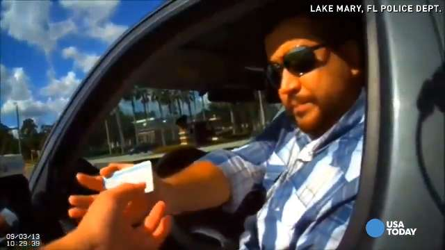 George Zimmerman stopped for speeding...again