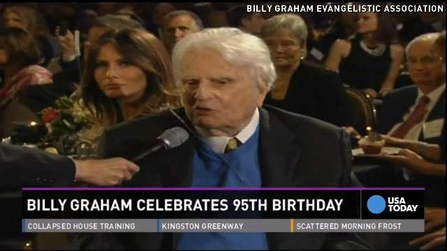 Billy Graham celebrates 95th birthday