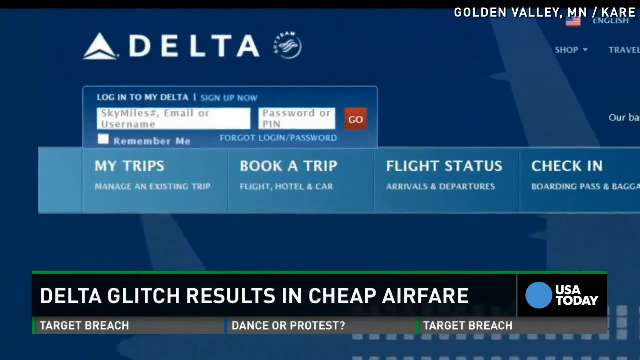 Sale of the year? Delta to honor mistake fares