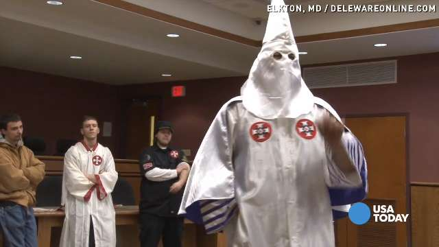 KKK holds meeting, wants to 'save America'