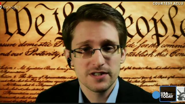 Edward Snowden: Mass surveillance missed Boston bomber