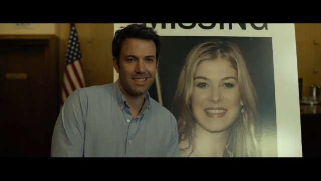 Ben Affleck and Rosamund Pike bring the best-selling book 'Gone Girl' to the big screen.
