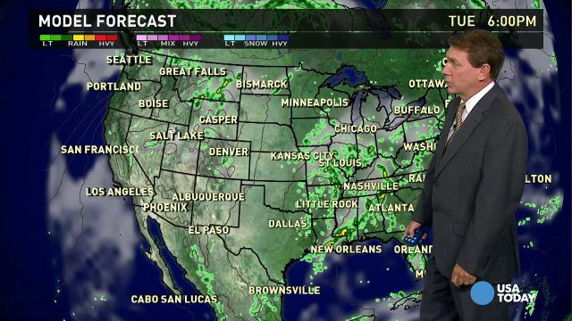 Tuesday's forecast: T-storms, tornado threat