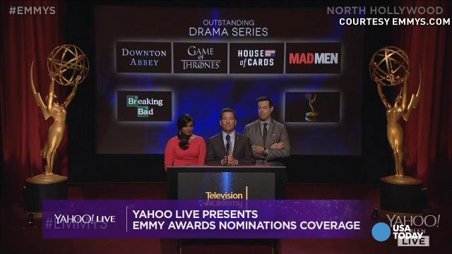 Seth Meyers prizes his new role as Emmycast host