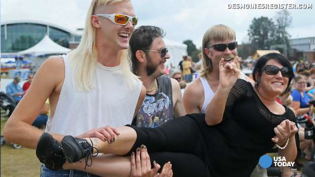 Best mullets in Iowa battle for title of mullet king
