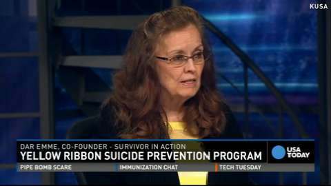 Dar Emme, co-founder of Surivor in Action discusses suicide prevention and their yellow ribbon program.