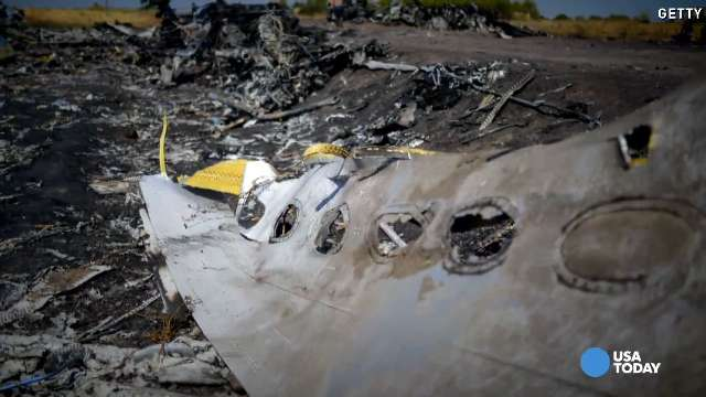 Video: Report says MH17 crashed due to 'outside objects'
