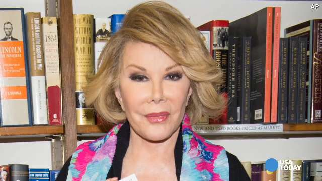 Melissa Rivers Comedian Joan Rivers Dies At 81