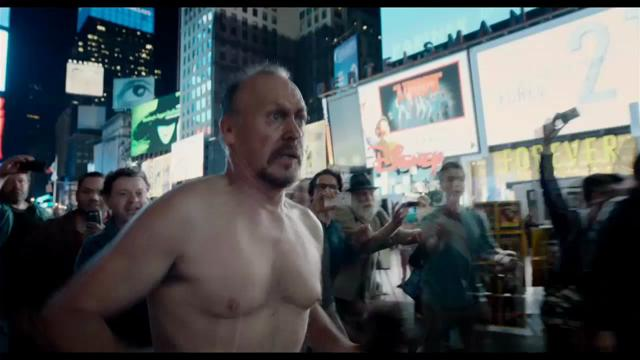 'Birdman' features an all-star cast of Michael Keaton, Edward Norton, Zach Galifianakis, Emma Stone and Naomi Watts. Keaton plays a washed-up actor who tries to reclaim his past glory with a Broadway play.