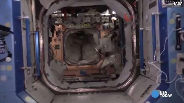 See inside the International Space Station