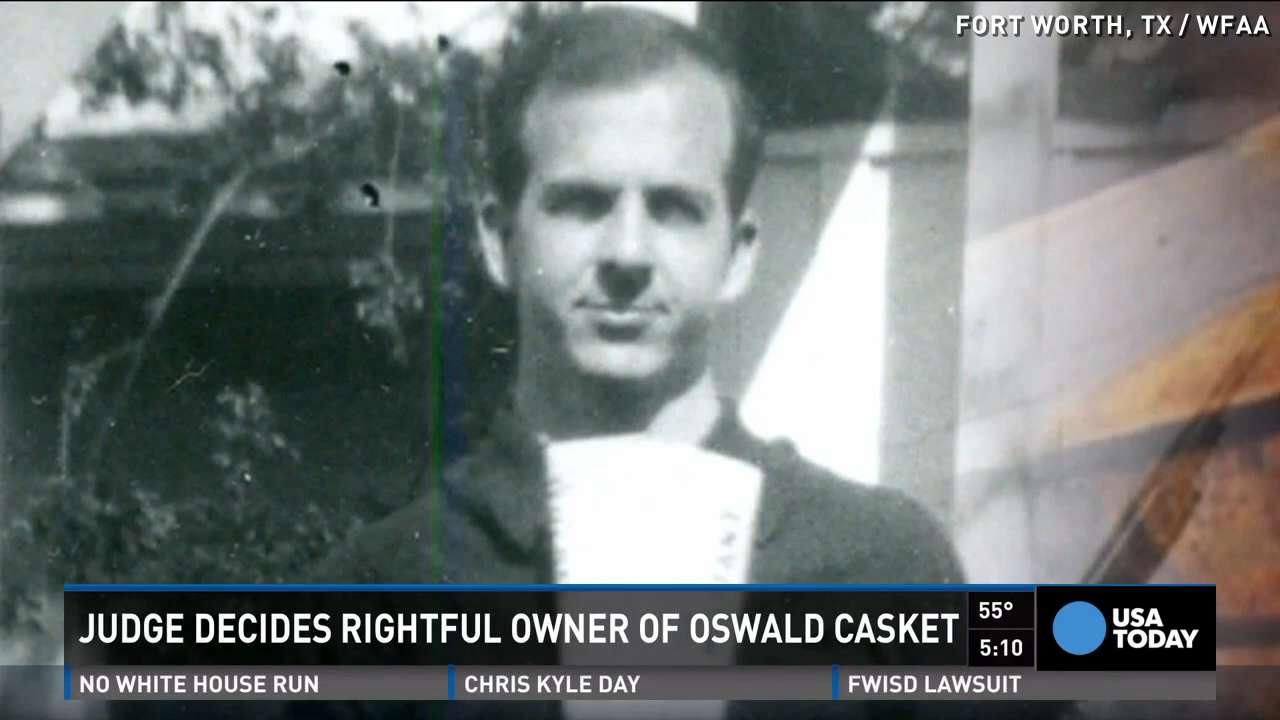 Lee Harvey Oswald's casket returned to brother