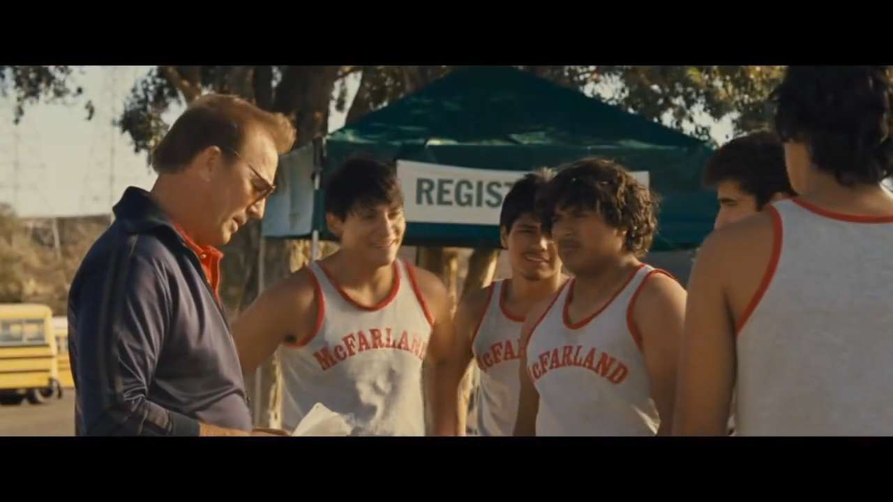 Inspired by the 1987 true story, 'McFarland, USA' follows novice runners from McFarland, an economically challenged town in California's farm-rich Central Valley, as they give their all to build a cross-country team.